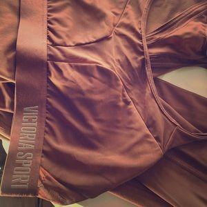 Victoria's Secret Sport leggings and bra